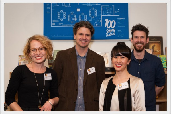 Jenna Williams, Dave Eggers, Jessica Tran and Lachlann Carter