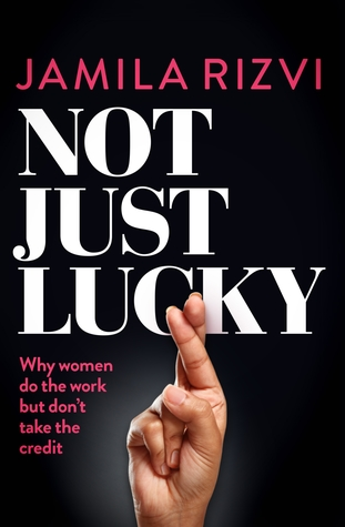 Front cover of Jamila's first manifesto 'Not Just Lucky'