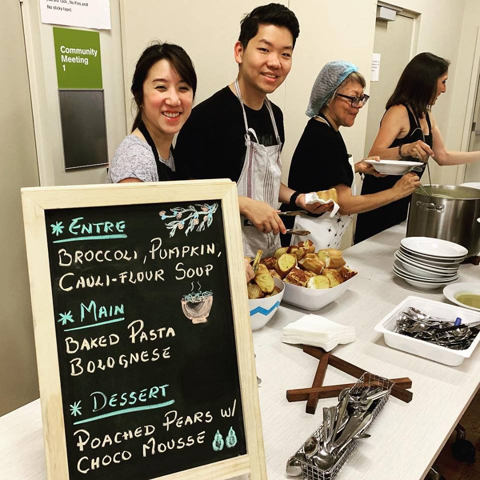 Soul Kitchen volunteers