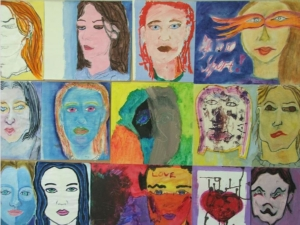 Art completed by young people living in Secure Welfare